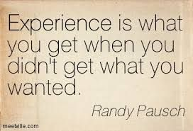 randy pausch quotes (the last lecture-book)
