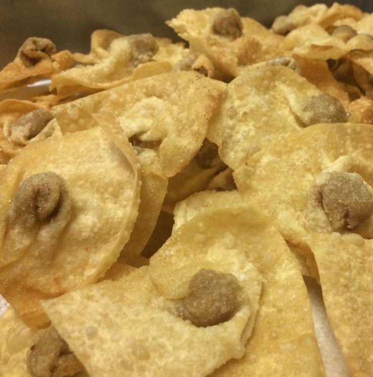 Disfruta de unos deliciosos wantanes! Res - Pollo - Camarón - Queso #wantan #chinesefood #leifong  Tel. 2563-7541 www.leifong.info