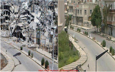 Civil War in Syria - Before and After Wow! #Syria #syrian #middleeast #islam…