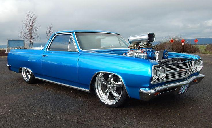Hot American Cars — Bad To The Bone 770HP Pro Street Chevy El Camino...