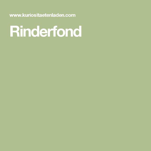 Rinderfond