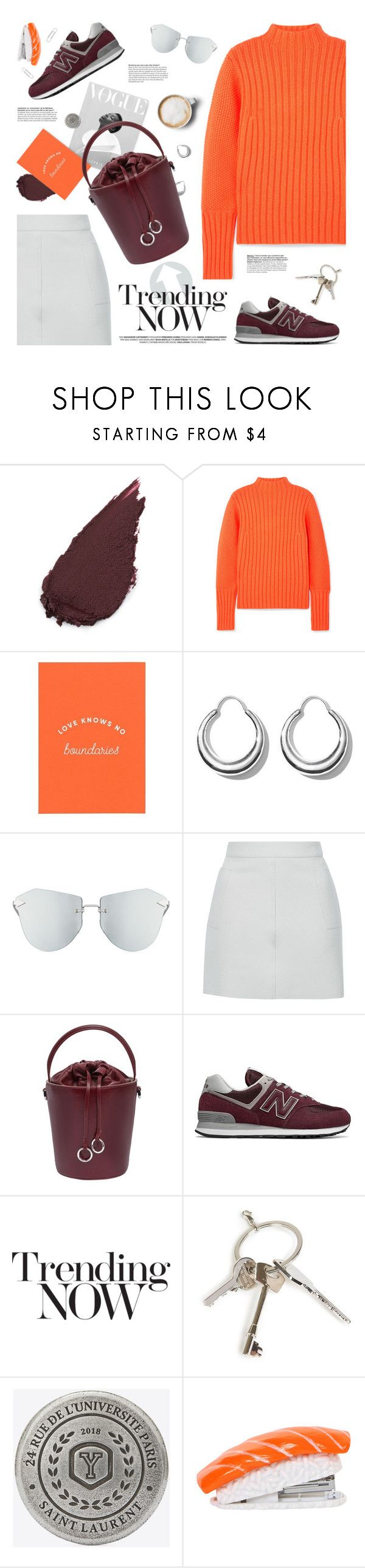 """""""5 days left to join (view description)"""" by jesuisunlapin ❤ liked on Polyvore featuring Victoria, Victoria Beckham, All Blues, Karen Walker, Topshop, Cafuné, New Balance, Givenchy, Yves Saint Laurent, Cufflinks, Inc. and Caffé"""