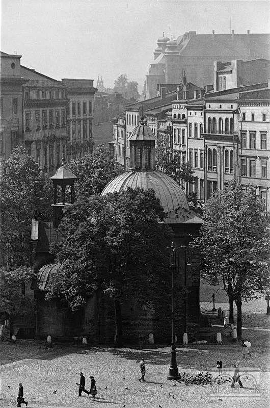 Kościół św. Wojciecha, Rynek Główny, Wawel - skrzydło północne Lata 50. XX w.