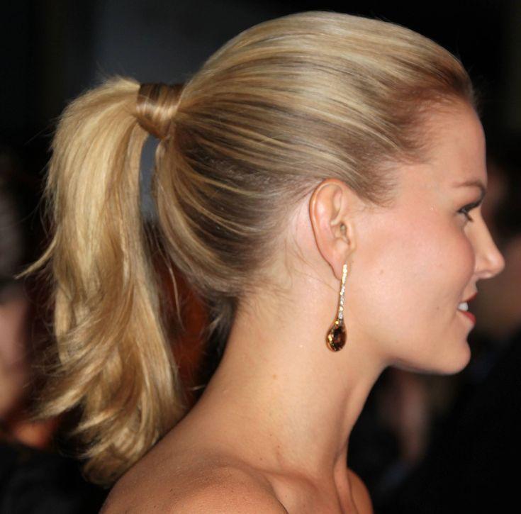 Jennifer Morrison ponytail