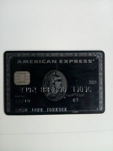 a american express centurion black card expired