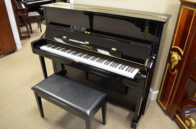Yamaha U1 Studio Piano - More Info: http://www.piano4u.com/Piano/Detail/1850