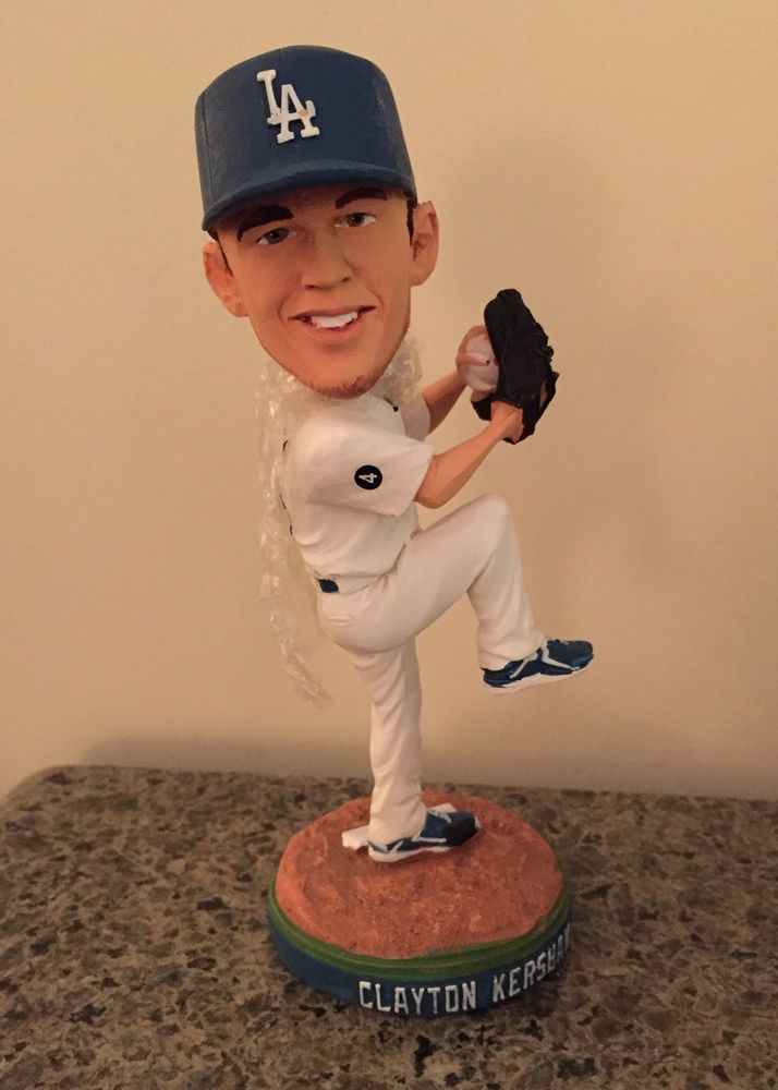 ☀NEW☀Clayton Kershaw Bobblehead 2011 Dodgers Rookie Bobble  | eBay