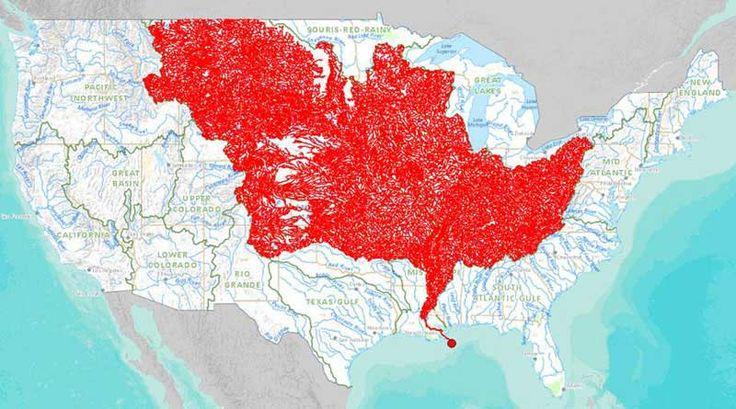 mapa cuenca rio