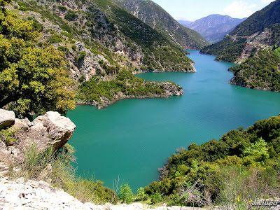 Πάρτε τα βουνά: Αιτωλοακαρνανία Η τεχνητή λίμνη Ευήνου