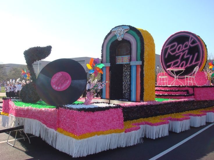 rock and roll parade float ideas - Google Search