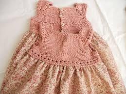 vestidos de niña con canesu tejido en pinterest ile ilgili görsel sonucu