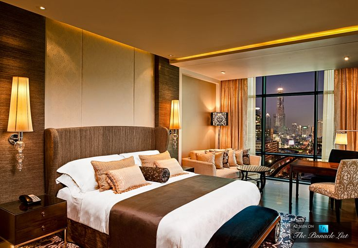 St. Regis Luxury Hotel - Bangkok, Thailand - Grand Deluxe Room Night