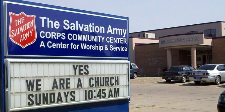 how to join the salvation army church