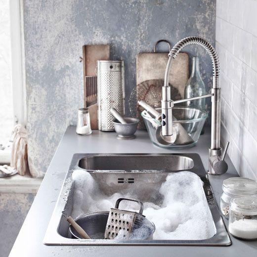 224 best images about ikea k chen liebe on pinterest plan de travail kitchen mixer taps and. Black Bedroom Furniture Sets. Home Design Ideas