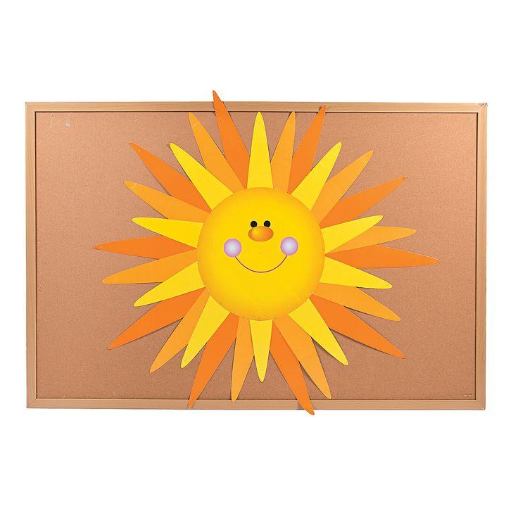 DIY Sun Bulletin Board Set - OrientalTrading.com