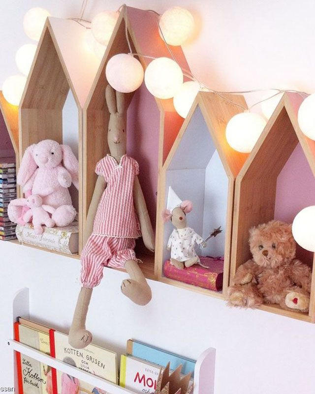 Casitas para decorar un cuarto infantil
