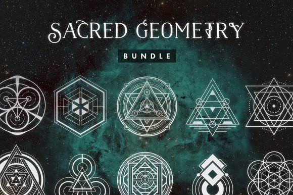 Sacred Geometry Bundle • Save 60% by Tugcu Design Co. on @creativemarket