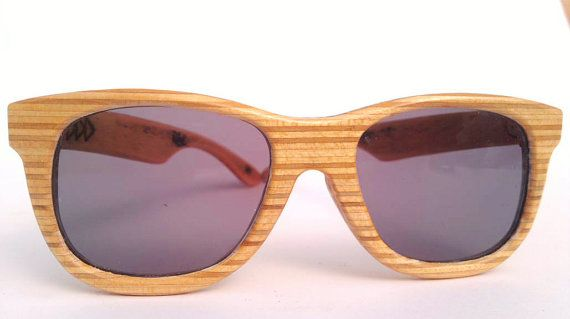 Natural plywood by Sk8Shades on Etsy, $120.00
