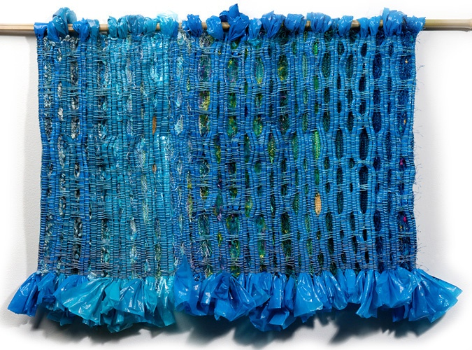 weaving with plastic bags