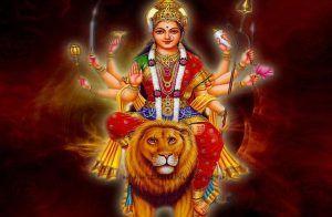 Chamunda Maa Mantra (Navarna Mantra) – Om Aim Hreem Kleem