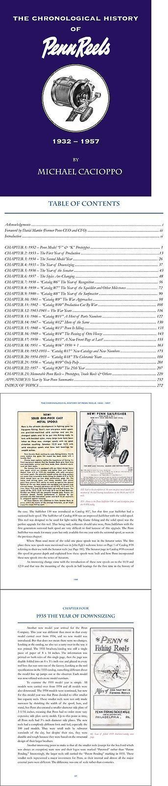 Books and Video 62155: The Chronological History Of Penn Reels--1932 To 1957--Author Signed Softcover -> BUY IT NOW ONLY: $44.95 on eBay! #PennReels