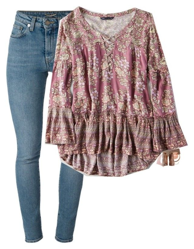 tag in d// by elizabethannee on Polyvore featuring American Eagle Outfitters, Yves Saint Laurent, Charlotte Russe, Hoss Intropia, Lacey Ryan, Urban Decay, tarte and bedroom