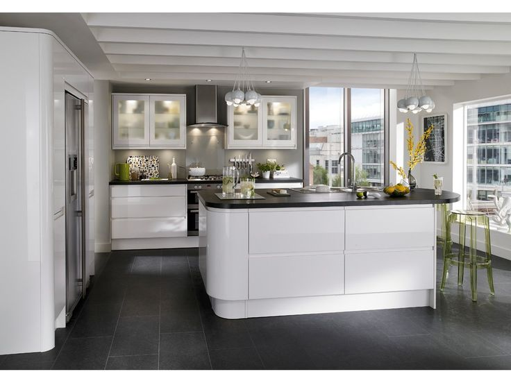 Inspiration Cuisine Design: cuisine blanche   Cuisine, rangement ...