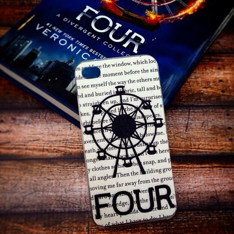 """Handmade """"FOUR"""" iPhone case from TheSourcersPhone"""