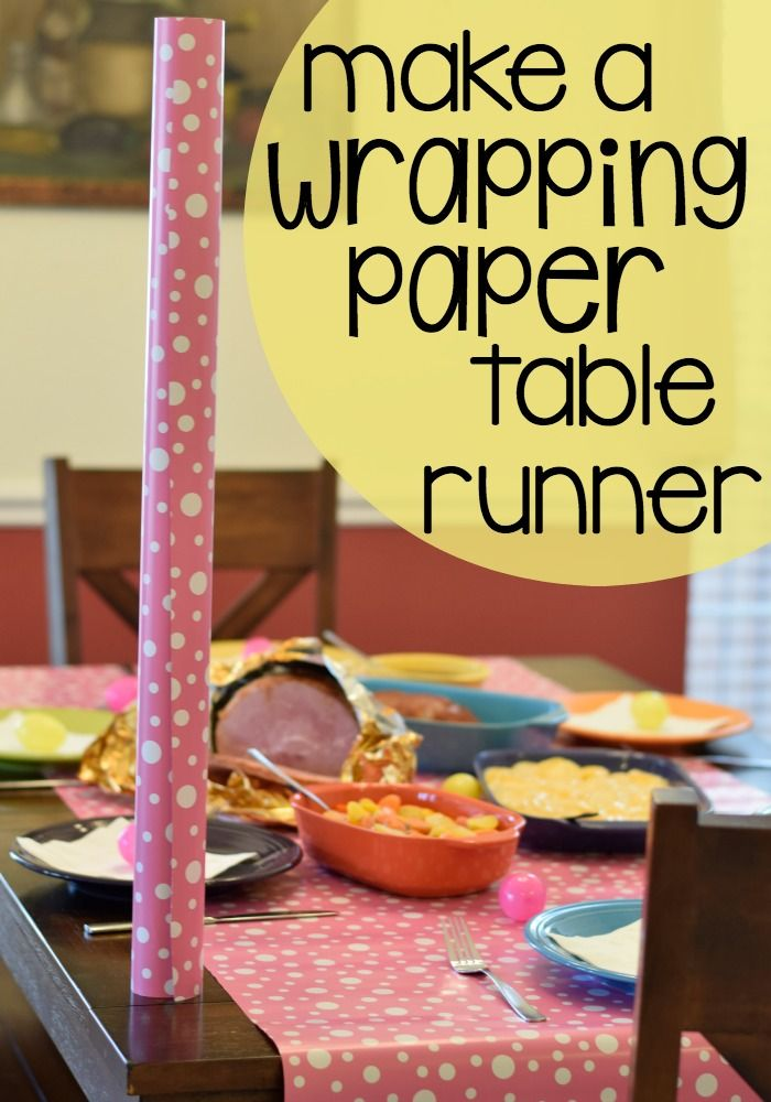 25 best ideas about paper table on pinterest friendsgiving ideas butcher paper and - Easter table decorations meals special ...