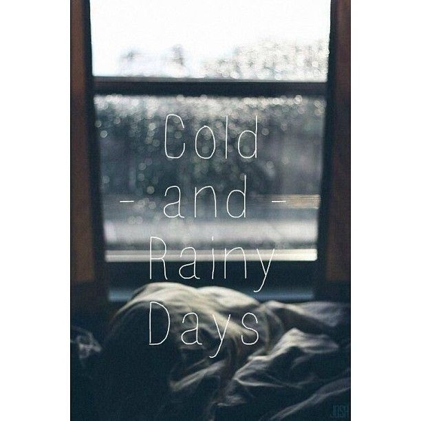 Cold Rainy Day Quotes: 126 Best Images About Rainy On Pinterest