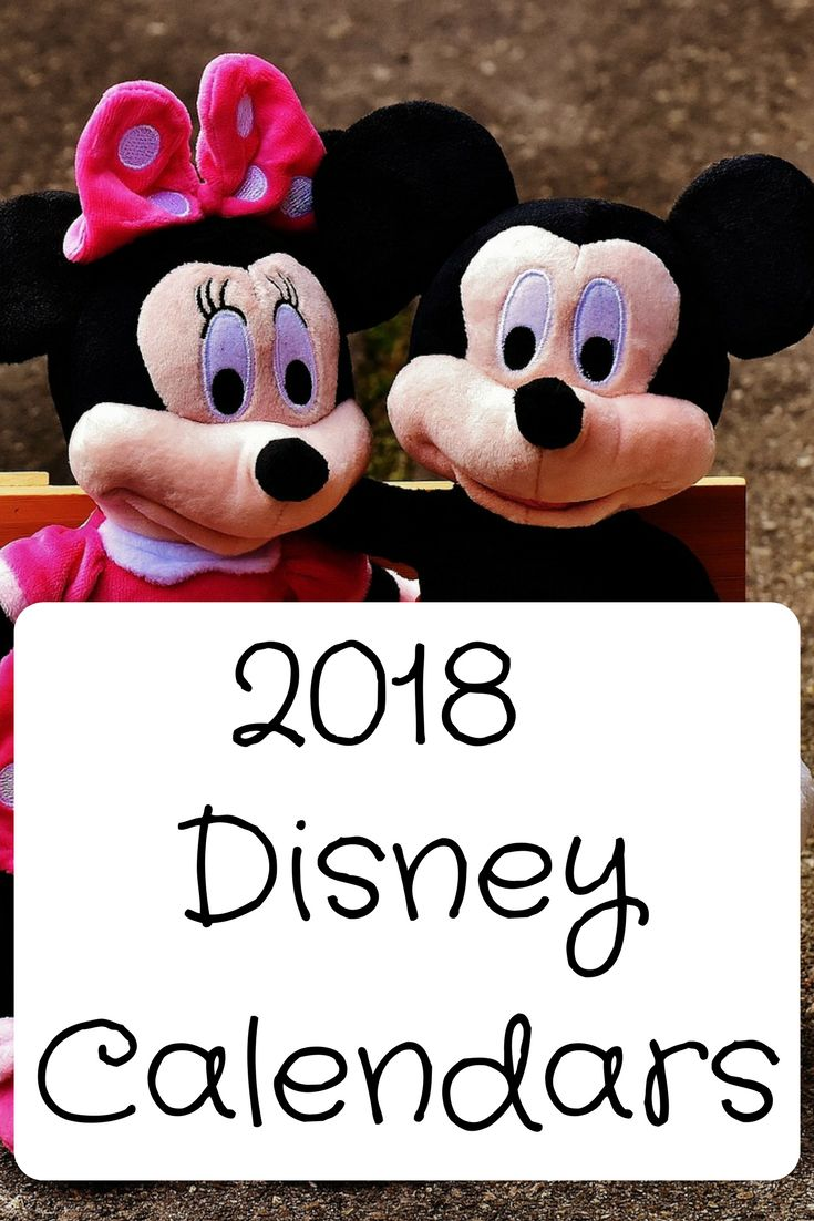 Disney calendar kids really want to start the new year with.