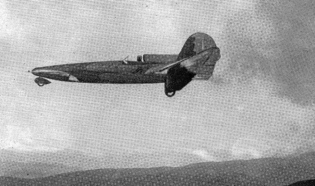 "SCA SS.2 in flight. Italian aircraft engineer Sergio Steffanutti had become interested in canard aircraft in the 1930s, developing a lightweight flight demonstrator designated the ""S.S.2"" that performed its initial flight in 1935. Two S.S.2 prototypes were built by Stabilimento Costruzioni Aeronautiche (SCA) at Guidonia, with the second later converted into a two-seater."