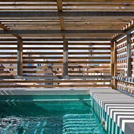 Une piscine intimiste