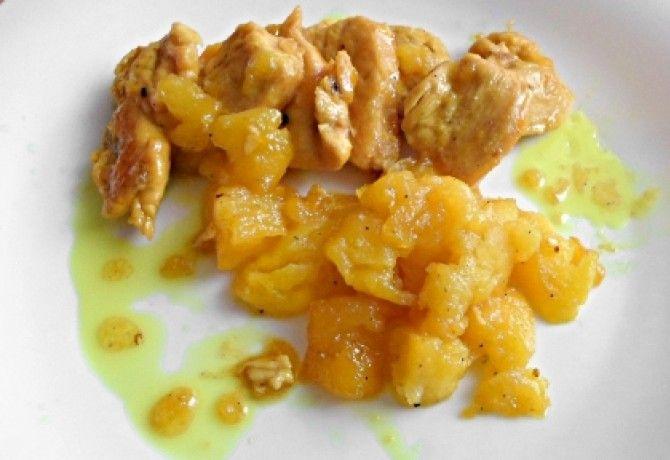 Almás-mézes csirkemell ahogy lakner készíti