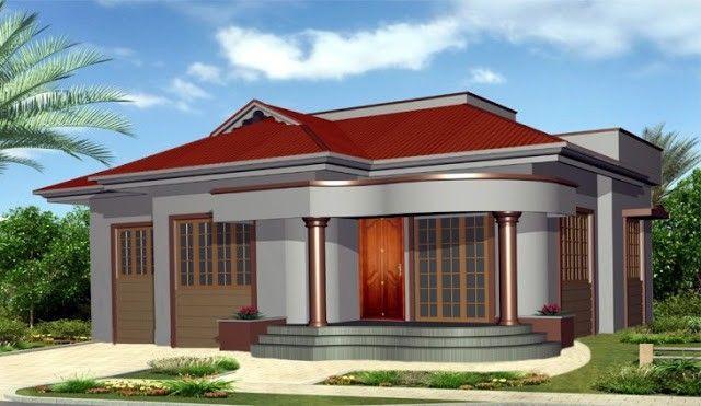 Single story house elevation designed by khalid pothuvachola #HomeAppliancesShowroom