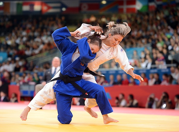 Better watch out for Marti Malloy. She took home bronze in the women's 57 kg Judo event  *Our town is so proud of you*