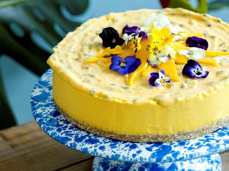 Mango Mousse Cake – Little Bird Organics