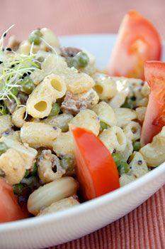 Food So Good Mall: Macaroni Salad with Artichokes Baby Corn and Peas