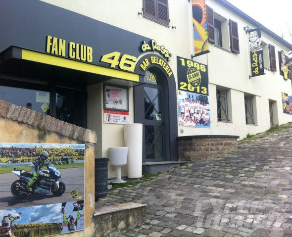 Valentino Rossi fan club store
