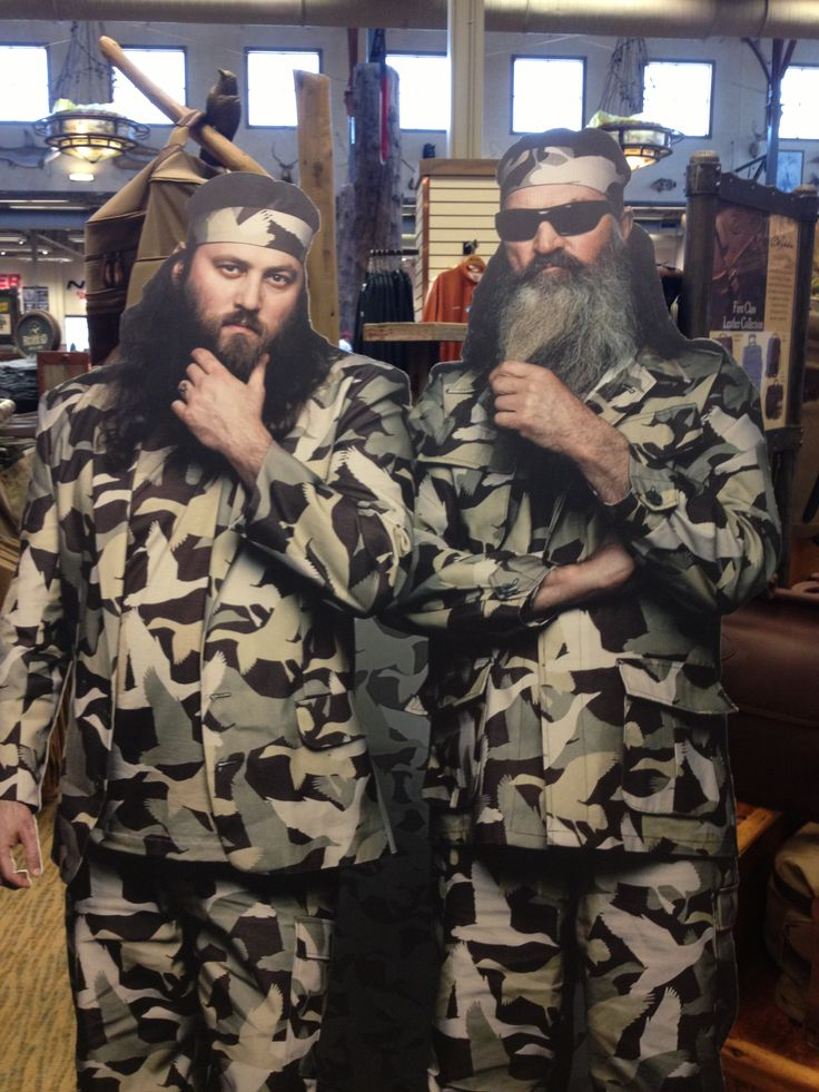 From Bass Pro Shop in Katy, Tx Duck dynasty, Duck