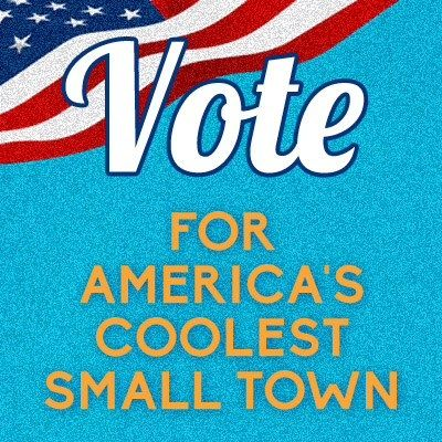 Show your favorite small town some love. Share photos of your favorite small town with us on Instagram and Twitter by tagging #ACST2015 & Vote now! http://www.budgettravel.com/contest/vote-for-americas-coolest-small-town-2015,18/