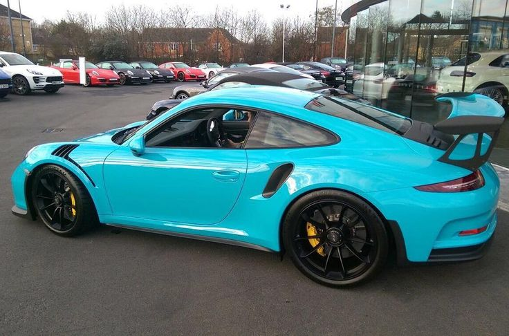 """""""New GT3 RS in Miami Blue"""""""