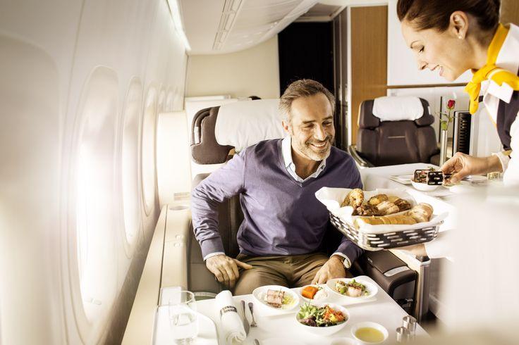 Lufthansa - Klasa Pierwsza.