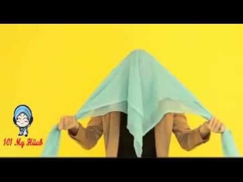6 TURBAN STYLES with Chiffon Scarves | NABIILABEE - YouTube