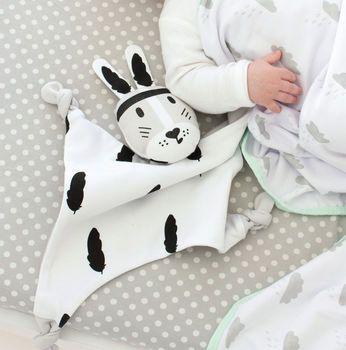 River Kippin Organic Rabbit Baby Comforter