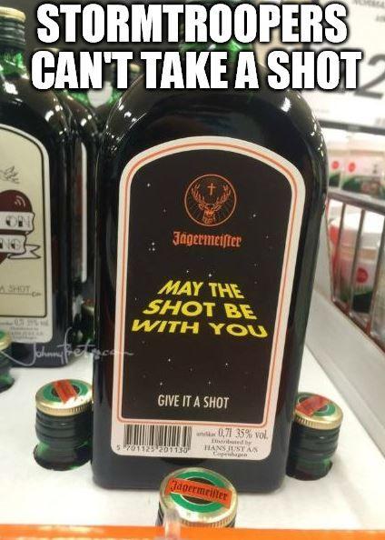 http://www.johnnybet.com/atp-world-tour-finals-2015-betting-odds#picture$id=4878 #jagermeister   #starwars   #shot   #stormtrooper   #sad