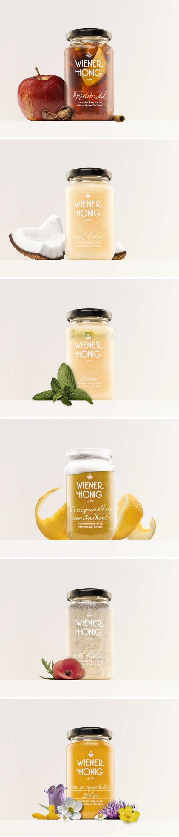 Wiener Honig / Honey from Vienna by Werner Singer, via Behance