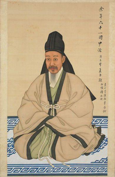 Bokgeon and simui in 1880. Wikipedia. File:Joseon-Portrait of Heungseon Daewongun-02.jpg