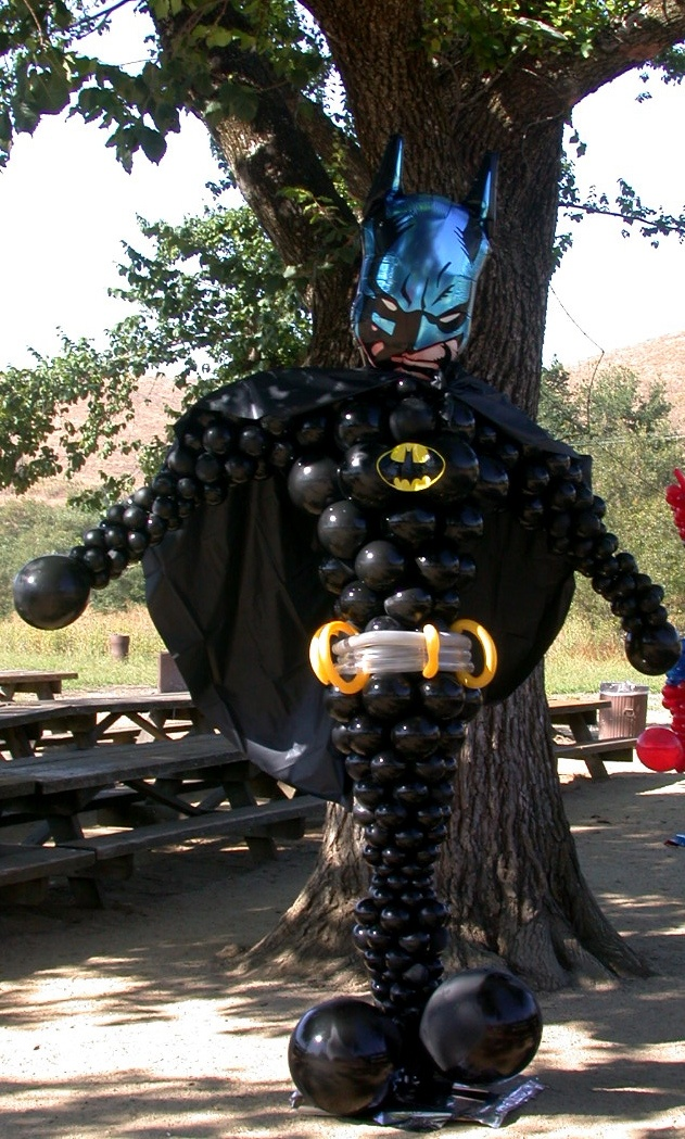 Batman Party Balloon