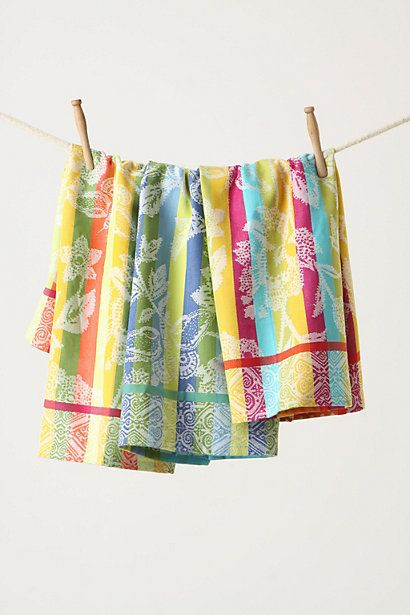 Afterglow Dishtowels | anthropologie